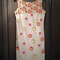 Trina Turk Textured Pattern Sleeveless Wear to Work Dress Sz8 Photo