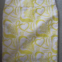 Trina Turk Yellow Heart Skirt Photo