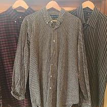 Trio of Men's Xl Dress Shirts - Polo Ralph Lauren / Express - a Condition Photo