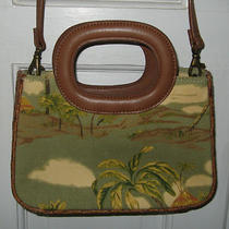 Tropical Fossil Crossbody Purse Handbag Photo