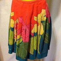 Tropical Print Skirt by Bandolino Photo