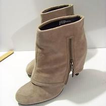 Trouve Ankle Boot 8 Medium Blush Heather Leathers Pre-Own Photo