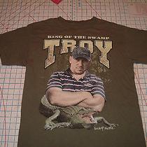 Troy King of the Swamp People Alligator Hunter Tv Show M Tshirt Tee Hudson Creek Photo