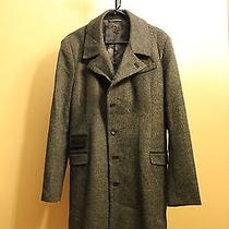 Troy Smith Urban Outfitters D Collection Men's Medium Wool Peacoat Photo