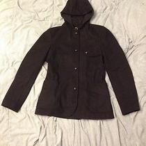 Troy Smith Urban Outfitters Jacket Peacoat With Hood Size Small Photo