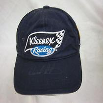 Trucker Hat Baseball Cap Kleenex Racing Retro Ward Burton Autograph Photo