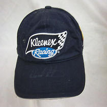Trucker Hat Baseball Cap Kleenex Racing Retro Ward Burton Autograph Photo
