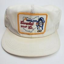 Trucker Hat Vintage Campbell's Soup Napoleon Ohio Patch Snapback K Products Photo