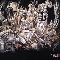 True Blood Vampire Cast T Shirt Hbo Art by J. Scott Campbell Xl Cotton Black Photo