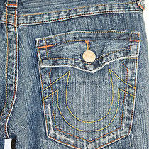 True Religion 503 Row Seat Distress Womens Jeans Size 30 X 30 Inseam 30 Photo