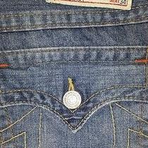 True Religion Billy Classic Jeans Size 31 Seat 34 Bnwt 218 Photo
