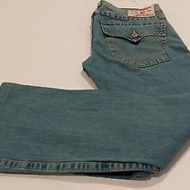 True Religion Billy Mens Jeans Section Billy Row 34 Seat 33 Bootcut  34/33 Photo