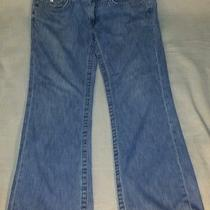 True Religion Billy Row 33 Seat 33 Jeans Rn  112790 Ca  30427 Size 34 lt.blue  Photo