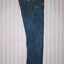 True Religion Bobby Big T 100% Cotton Denim Jeans Row 30 Seat 33 Photo