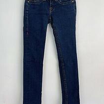 True Religion Brand Jeans World Tour Section Julie Blue Womens Sz 26 Vintage  Photo