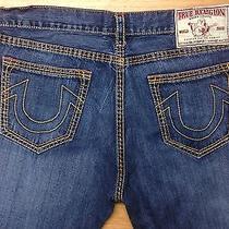 True Religion Denim Jeans Billy Super T Row 42 Seat 33 Mens Casual   Photo