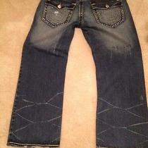 True Religion Denim Jeans Billy Super T Row 42 Seat 33 Mens Casual   Photo
