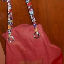 True Religion Fragrances Red Color Women's Purse Shoppers Bag Tote Hobo Bag Photo