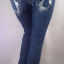 True Religion Jeans Bobby Painted Size 25 Photo