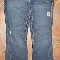 True Religion Jeans Denim Rainbow Joey Row 32 Seat 33 Men Photo