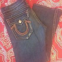 True Religion Jeans Joey Big T  Orange Stitch Size  Row 34 - Seat 33 Photo