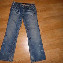 True Religion Jeans Joey Big T Row 36 Seat 31 Blue  Designer Pants Photo