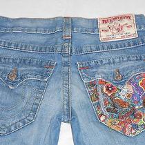 True Religion Jeans Joey Denim Men Size Row 30 Seat 33 ( W 33 X L 30 ) Photo