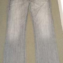 True Religion Jeans Ricky 36  Seat 34 Gray  Flapped Pockets  Photo