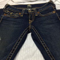 True Religion Jeans Womans Joey Big T Seat 34  Waist  Photo