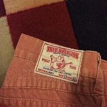 True Religion Joey Pink  Jeans Men Size Row 33 Seat 33 Great Shape Photo