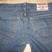 True Religion Johnny Jeans Row 33 Seat 34boot Cut Photo