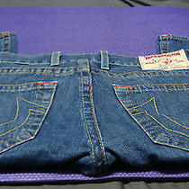 True Religion Men Jeans Logan Row 34 Seat 33  Rn112790 Ca30427 Classic  Photo