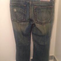 True Religion Men's Bobby Super T Jeans Size Row 42 Seat 33 Dark Wash Photo