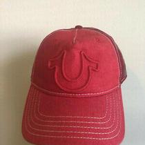 True Religion Mens Horseshoe Baseball Cap Adjustable Hat Photo