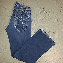 True Religion Men's Jeans Billy Big T Size 31x34 Boot Cut Seat 34 Photo