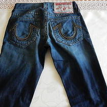 True Religion Men's Jeans Rainbow Bobby Seat 34 Photo