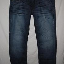 True Religion Mens 33x34 Rainbow Ricky Seat 34 Jeans -  Photo