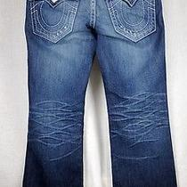 True Religion Mens Billy Big T 100% Auth Size Row 33 Seat 34 Almost Brand New Photo