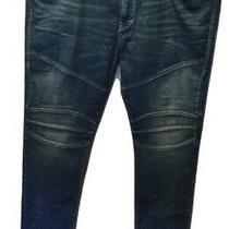 True Religion Mens Blue Denim Zip Fly Rocco Jeans Size 40 X 34 Nice Details Euc Photo