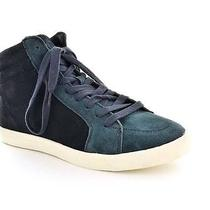 True Religion Mens Casual Sneakers Size 8.5 M Tr22010009u Scotty Navy Suede Photo