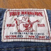 True Religion Mens Jeans Previously Owned Section Joey Row 30 Seat 34 Estate Photo