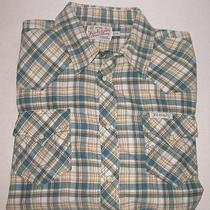True Religion Mens Western Pearl Snap Plaid Shirt Xl Excellent Photo