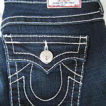 True Religion New  27  4  Joey Big T Dark Pony Express Wash Super Cute Jeans Photo