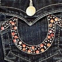 True Religion Pink Bling Jeans 27 Excellent Condition Like Miss Me Photo