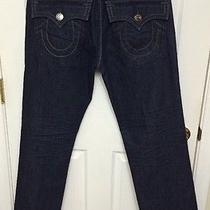 True Religion Ricky Big Ot Triple Stitching Jeans - Seat 34 Free Shipping Photo