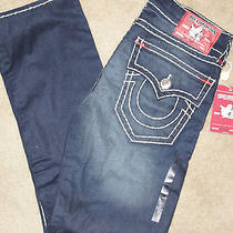 True Religion River Rush Red Tag Jeans Nwt  Photo