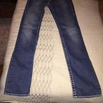True Religion Section Billy Big T Seat World Tour Jeans Size 25 Photo