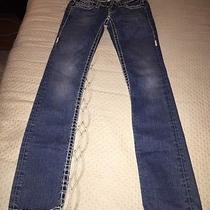 True Religion Section Billy Super T Row Seat World Tour Jeans Size 25 Photo
