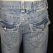 True Religion Section Row Seat  Jeans Mens Size 30x33 Photo