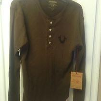 True Religion Shirt Size Small Brown (New) Photo